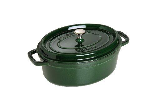 Caçarola Oval Staub Verde Basil Médio