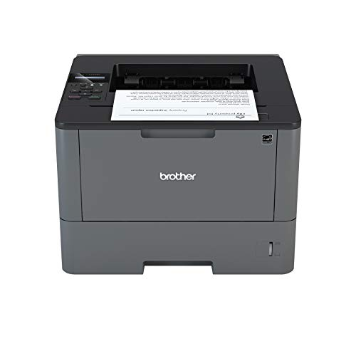 Brother HLL5000D Stampante Laser Mono, 40 ppm, con Stampa Fronte e Retro, USB 2.0 Hi-Speed