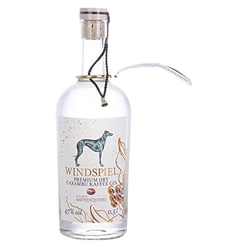 Windspiel Premium Dry CAXAMBU KAFFEE Gin Batch 001 47% Volume 0,5l