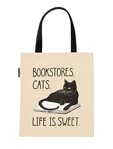 Out of Print Bookstore Katzentasche