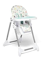 HIGHCHAIR - Keep mealtimes comfortable with the Snax highchair. ADJUSTABLE - 6 height and 3 recline positions for added comfort with a seat pad for added comfort and a 5 point safety harness to keep baby secure. EASY CLEAN - Remove the tray insert fo...