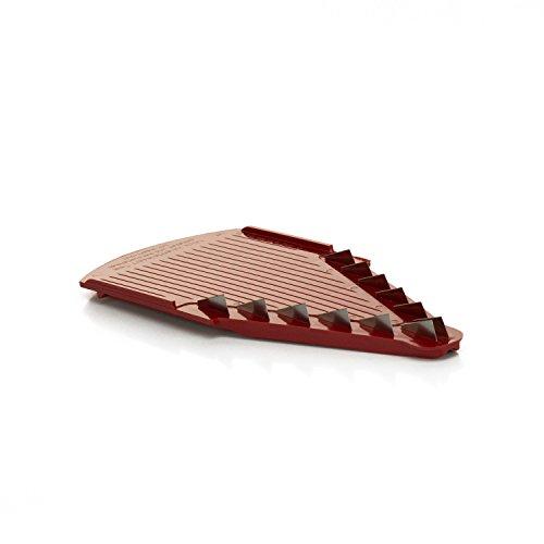 Börner Messereinschub 7mm für V1, V3 und V6 V-Hobel in rot - Gemüseschneider
