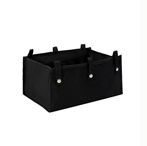 Under Seat Rollator Bag, Large Size Rollator Basket, Under Seat Bag or Tote for Four Wheel Rollator, Walker Underseat Replacement Medical Basket (Black)