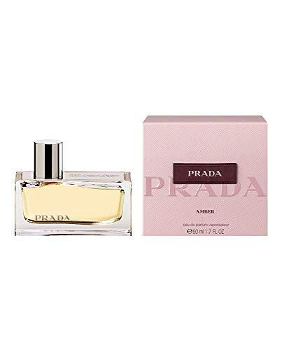 Prada Amber femmewoman Eau de Parfum, Negro, holzig, 50 ml