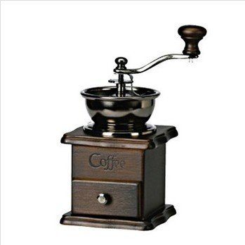 Wooden Manual Antique Style Coffee Grinder