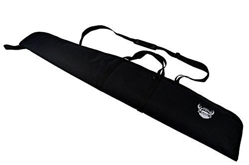 Rawstyle Waffentasche (Schwarz) Jagdtasche Waffenfutteral für Luftgewehr mit Fernrohr 120 cm Gewehrfutteral Gun Case XX