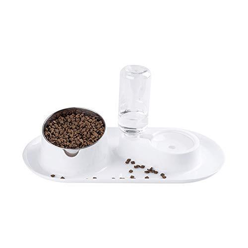 HGTRSDE Cat Bowl, 550mlautomatic Drinking Bowl, Cat Bowl, Dog Bowl, Cat Water Bowl, Anti-overturning Rice Bowl, Pet Supplies