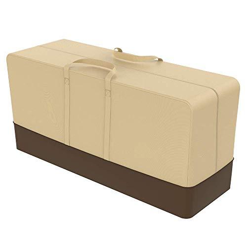 Möbel Kissen-Speicher-Beutel Extra Large Heavy Duty 420D Oxford Fabric Wasserdicht Gartenterrasse im Freien Kissen-Speicher-Beutel mit Griffen (152x71x51cm) zhaoyun (Size : 152x71x51cm)