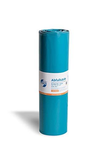 Müllsäcke Abfallsäcke DEISS PREMIUM PLUS blau 120 Liter, 23, 120 Liter - 70 my, 10010