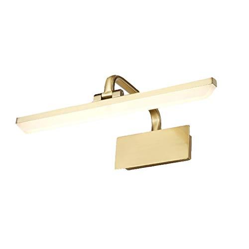 Lámparas de baño Lámpara Delantera del Espejo Pantalla de acrílico Cuerpo de la lámpara Chapado de Metal Cabezal de la lámpara 180 ° rotación 40 cm, 50 cm, 60 cm, 70 cm Moda Retro Durable