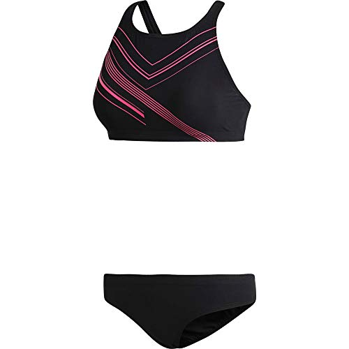 adidas Two-Piece Placed-Print Bikini Women Black/Shock Pink Größe DE 32 | XS 2018 Bademode