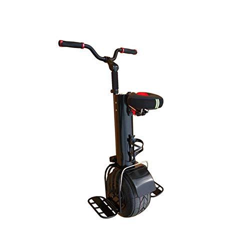QX Roller Elektrofahrräder Elektroroller 500W Einrad Elektroroller Für Erwachsene Selbstausgleichend Smart Charging Travel 10 Zoll Einrädriges Motorrad Mit Sitz Und Lenker Jungen Mädchen