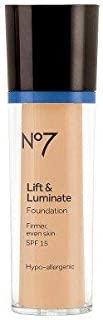 Boots No7 Lift & Luminate Foundation SPF 15 Honey - 1oz Honey