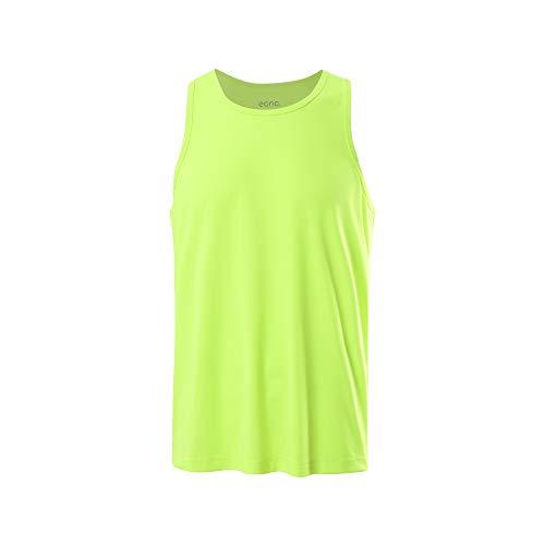 Eono Essentials - Camiseta de fútbol para entrenar, hombre