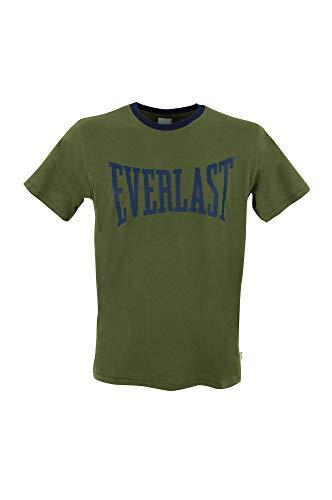 Everlast - Camiseta de manga corta para hombre (manga corta, de 1 a 5 unidades) 1 verde XL