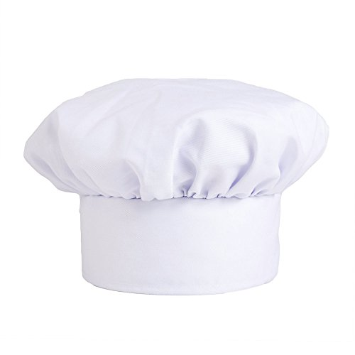 Price comparison product image Traditional Chef Hat,  White