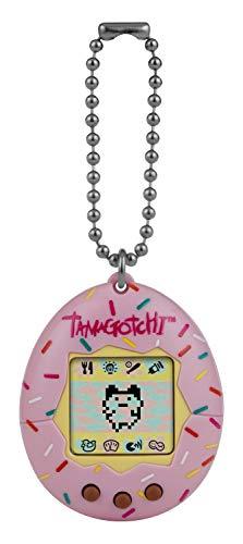TAMAGOTCHI Original Sprinkle – Alimentar, cuidar, nutrir – Mascota Virtual con Cadena para Jugar sobre la Marcha, Color espolvorear (Bandai 42871)