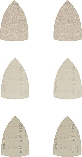 Bosch Professional 10 x Set de malla de lija Expert M480, para Madera dura, Pintura sobre madera, 100 x 150 mm, Grano 80, 120, 180, Accesorios Multilijadora