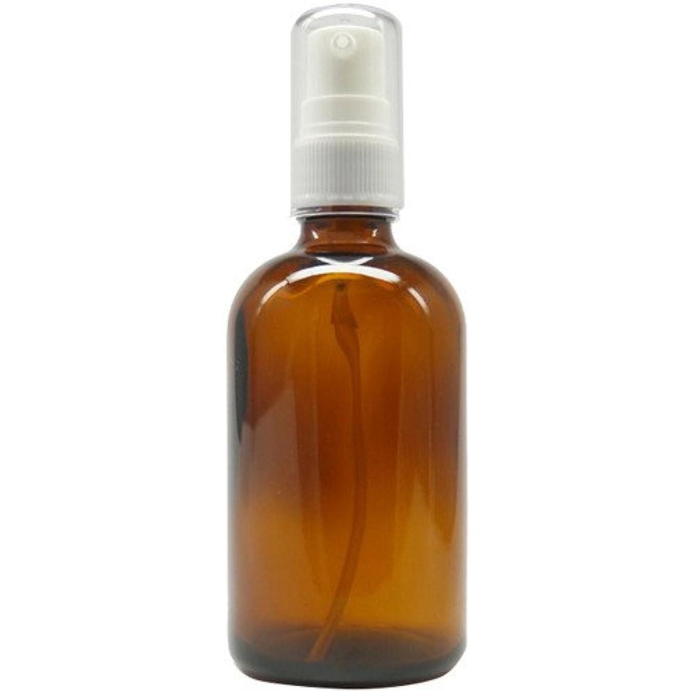 動詞ピアース乳白色アロマアンドライフ (D)茶褐色ポンプ瓶100ml 3本セット
