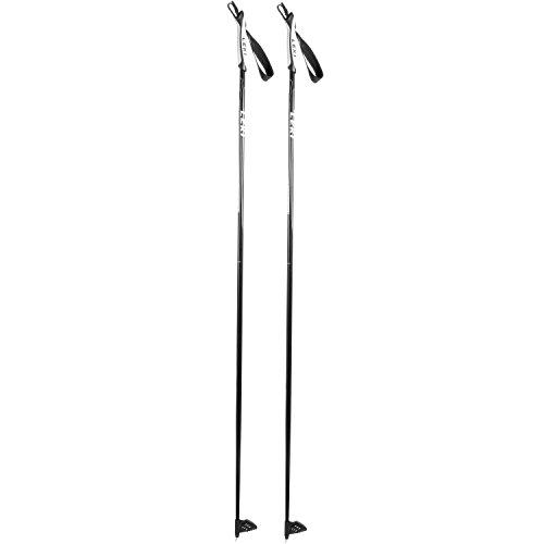 LEKI Vasa Langlaufstöcke, Schwarz, 130 cm