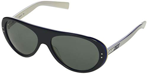 Nike EV0601 017 Gafas Vintage 76, Gris/Blanco