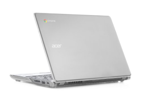 Clear iPearl mCover Hard Shell Case for 11.6' Acer C720 C720P C740 Series ChromeBook Laptop (NOT Compatible with Newer 11.6' Acer Chromebook 11 C730 / CB3-111 / CB3-131 Series Laptop)
