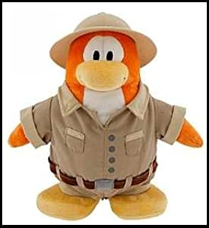 "SAVE $6.00 - VALUE DEAL on RARE Club Penguin EXPLORER 6.5"" Plush - VALUE DEAL = Just the Rare Plush without Coin or Code"
