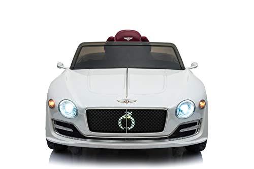 RC Kinderauto kaufen Kinderauto Bild 1: Toyas Lizenz Bentley Kinder Elektrofahrzeug Kinderfahrzeug Kinderauto Elektroauto 2X 30W Motor Weiß*