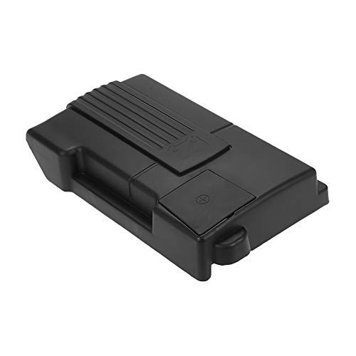 Leeofty Auto Motor Batterie Schutzabdeckung Positive Negative Elektrode Wasserdicht Staubdicht Kappe Ersatz Für Skoda Kodiaq Tiguan 2016-2018