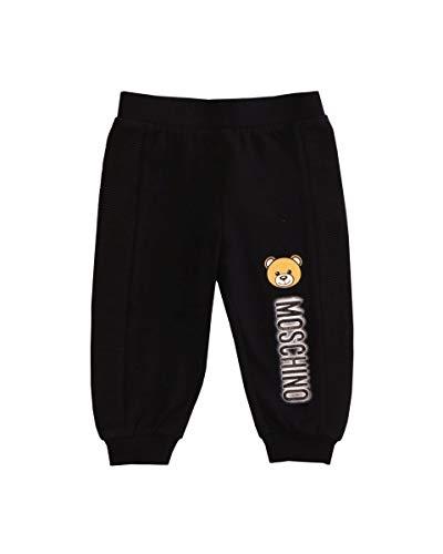 MOSCHINO BABY Teddy-Hose für Neugeborene, Schwarz 60 cm(3-6 Monate)