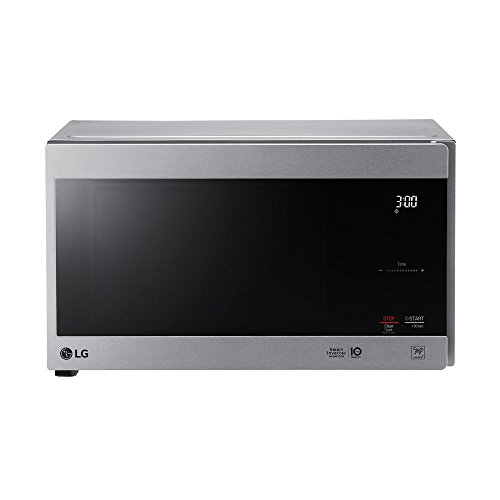 LG NeoChef Stainless Steel 0.9 Cubic Feet Microwave (Renewed)