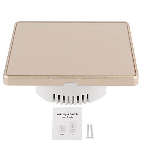 Indicadores de botones, interruptor de luz táctil Interruptor inalámbrico Interruptor inteligente inalámbrico Interruptor de luz de vida inteligente Interruptor WiFi inteligente para