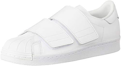 adidas Superstar 80s CF W, Zapatillas de Deporte para Mujer, Blanco (Ftwbla/Ftwbla/Ftwbla 000), 36 EU