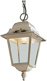 Sospensione 1 Luce Collezione Gorizia A106 Bianco Sfumato Oro