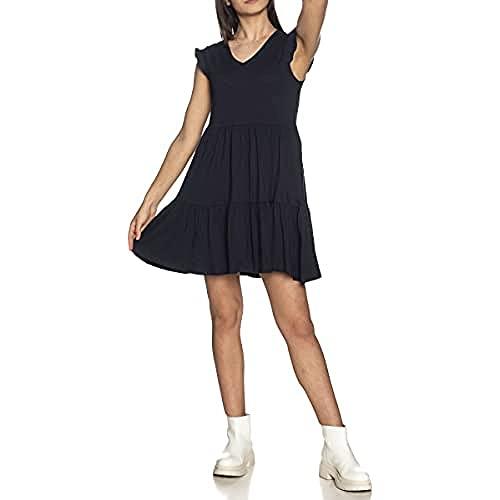ONLY Damen ONLMAY Life Cap Sleeves Frill Dress JRS Kleid, Desert Sage, M