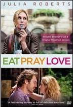 DVD Eat Pray Love Book