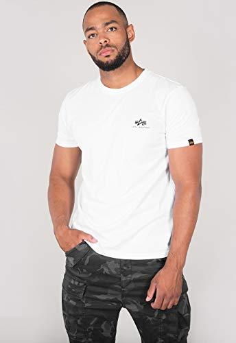 Alpha Industries Basic T Small Logo T-Shirt Weiß M
