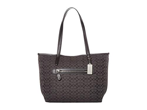 COACH Taylor Tote Black/Black/Silver One Size