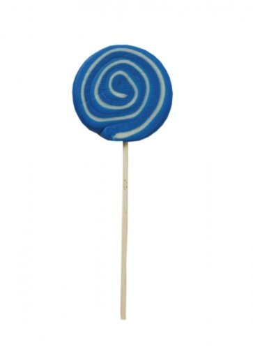Spiral Lolly Boy blau weiß Menge:80g