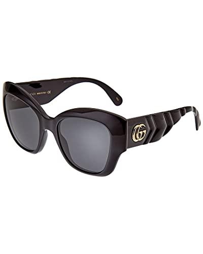 Occhiali da Sole Gucci GG0808S Black/Grey 53/20/145 donna