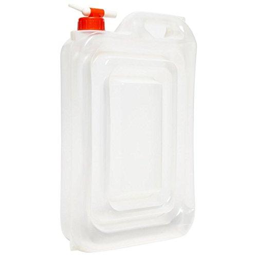 20L eau transporteur conteneur pliable pliant avec robinet camping bouteille 159729