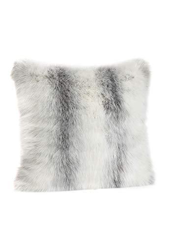 Donna Salyers' Fabulous-Furs Limited Edition Icelandic Fox Faux Fur Pillows (24x24 in) (Icelandic Fox) -  Fabulous Furs