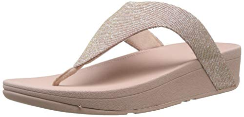 Fitflop Women's Lottie Glitzy Sandalen, Pink (Rose Gold 323), 39 EU