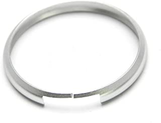 iJDMTOY Silver Finish Smart Key Fob Replacement Ring for 08-up Mini Cooper JCW R55 R56 R57 R58 R59 R60