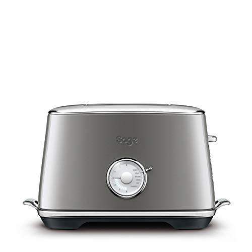 SAGE STA735 Toast Select Luxe 2-Scheiben-Toaster mit LED-Fortschrittanzeige, Anthrazit