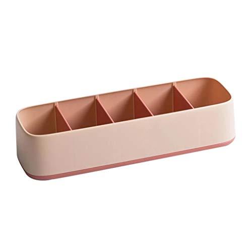 Abcidubxc - Cestini portaoggetti a 5 cassetti, per reggiseni, calze, biancheria intima rosa