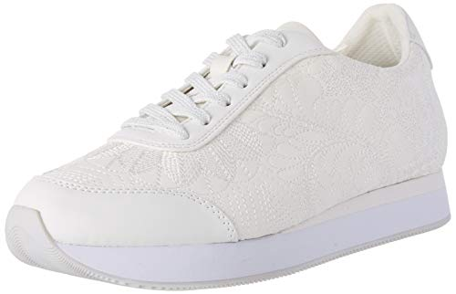 Desigual Damen Shoes Galaxy Lottie Sneaker, Weiß (Blanco 1000), 39 EU