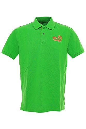Signum Polo Poloshirt Herren Kurzarm, Farbe:grün;Herrengrößen:M