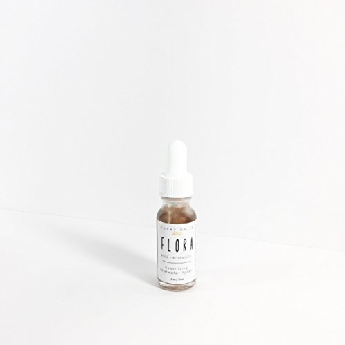 HoneyBelle Flora Organic Rosewater Toner – 0.5 Oz