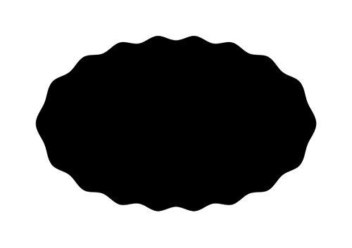 RAYHER 38851000 Schablone, Welle Oval, DIN A4, selbstklebend, SB-Btl, 1 Stück